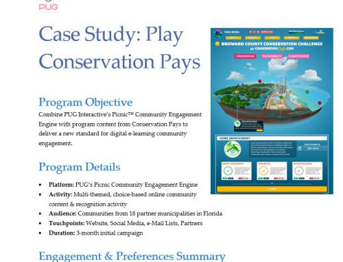 UPDATED e-Learning Case Study: Conservation Pays