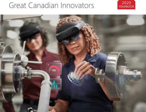 Microsoft recognizes PUG in Great Canadian Innovators 2020 Yearbook