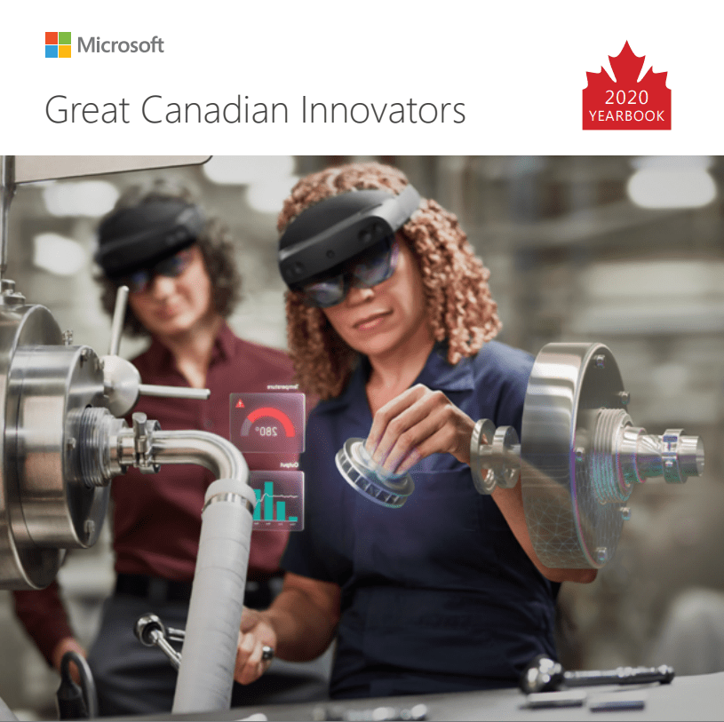 Microsoft Great Canadian Yearbook 2020